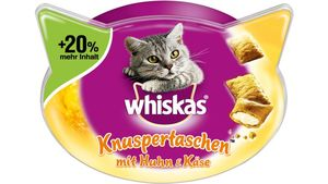 Whiskas® Knuspertaschen Huhn+ Käse 72g