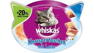 Whiskas® Knuspertaschen Lachs 72g