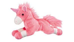 Müller - Toy Place - Einhorn, liegend, rosa 30 cm