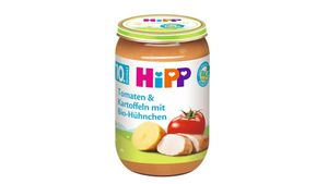 HiPP Menüs ab 10.Monat - Tomaten und Kartoffeln mit Bio-Hühnchen