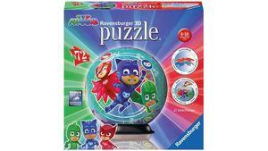 Ravensburger Puzzle - 3D Puzzle-Ball - PJ Masks