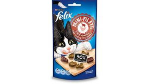 felix Katzensnack Mini-Filetti Leckere Hühnchen- & Rinder- Stückchen