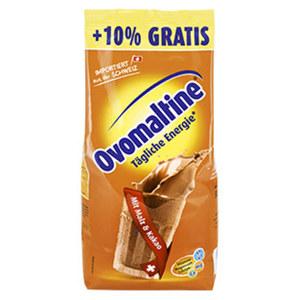 Ovomaltine Original 500 g + 50 g gratis oder Schoko 450 g jede Promotion-Nachfüllbeutel
