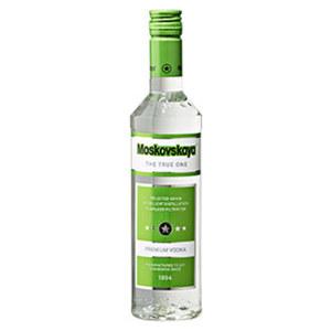 Moskovskaya Vodka 38% Vol., jede 0,5-l-Flasche
