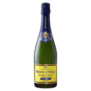 Champagner Heidsieck Monopole Blue oder Red Top jede 0,75-l-Flasche