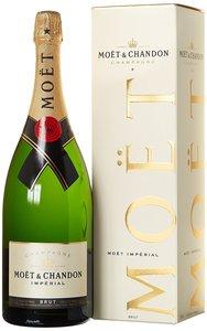 Champagner Moët & Chandon Brut Impérial Geschenkpackung 1,5 l