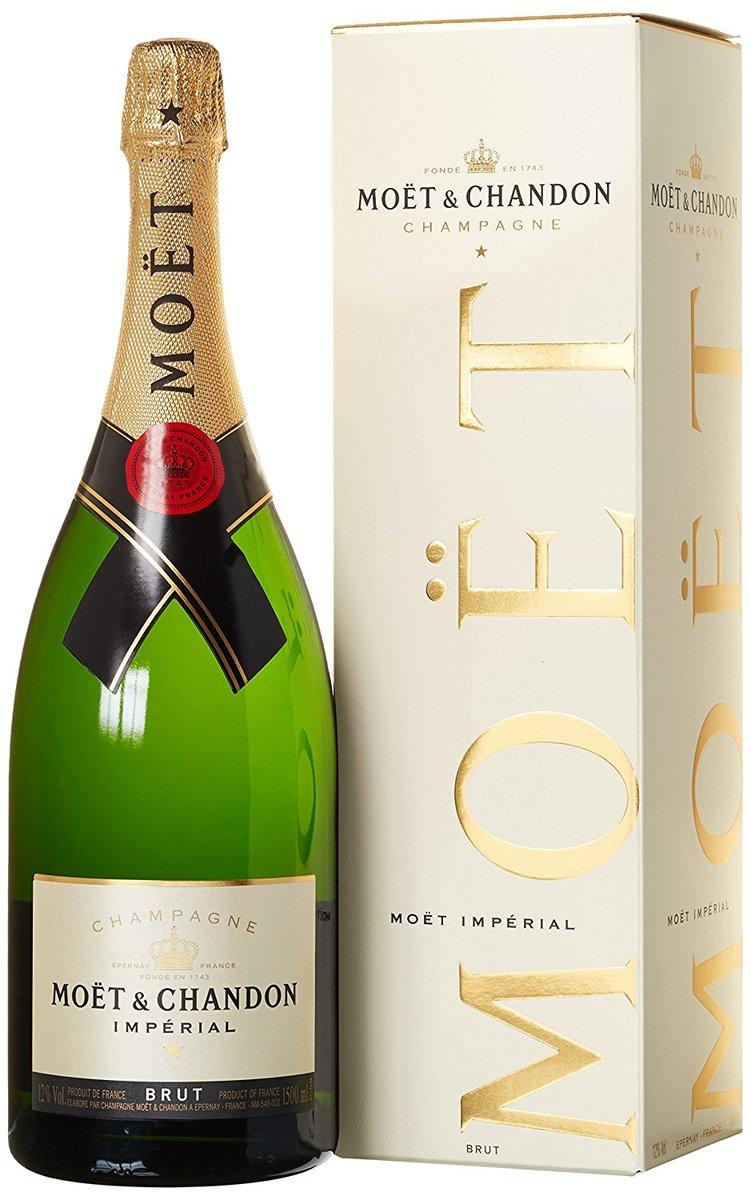 Bild 1 von Champagner Moët & Chandon Brut Impérial Geschenkpackung 1,5 l