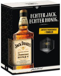 Jack Daniels Honey 35% Vol. 0,35l inkl. Tumbler