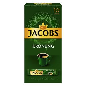 Jacobs Krönung, löslicher Kaffee | 10 Sticks