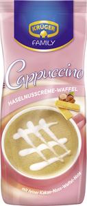 Krüger Family Cappuccino Haselnusscrème- Waffel   500g-Beutel