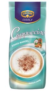 Krüger Family Cappuccino Kokos-Mandel | 500g-Beutel