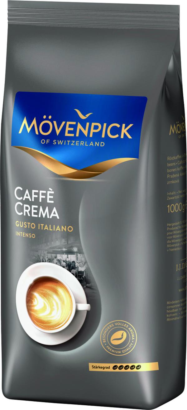 Mövenpick Caffè Crema Gusto Italiano Intenso | ganze Bohne | 1000g