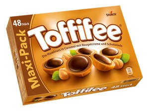 Storck Toffifee 48er, Praline, Schokolade, 400g Packung