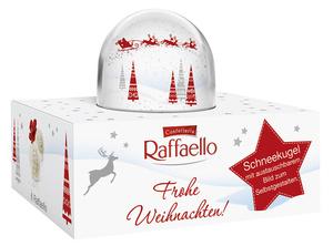 Ferrero Raffaello Schneekugel 60g