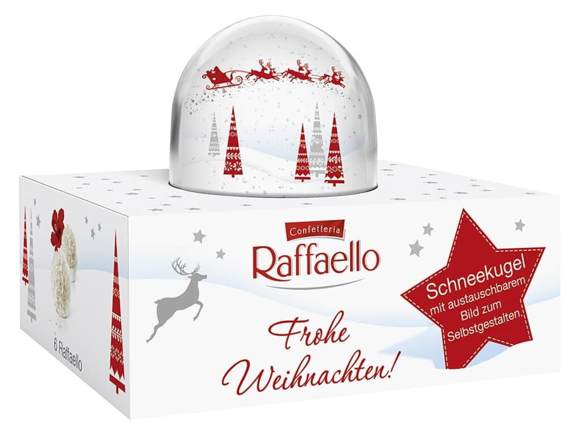 Bild 2 von Ferrero Raffaello Schneekugel 60g