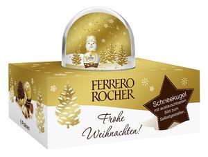 Ferrero Rocher Schneekugel 75g