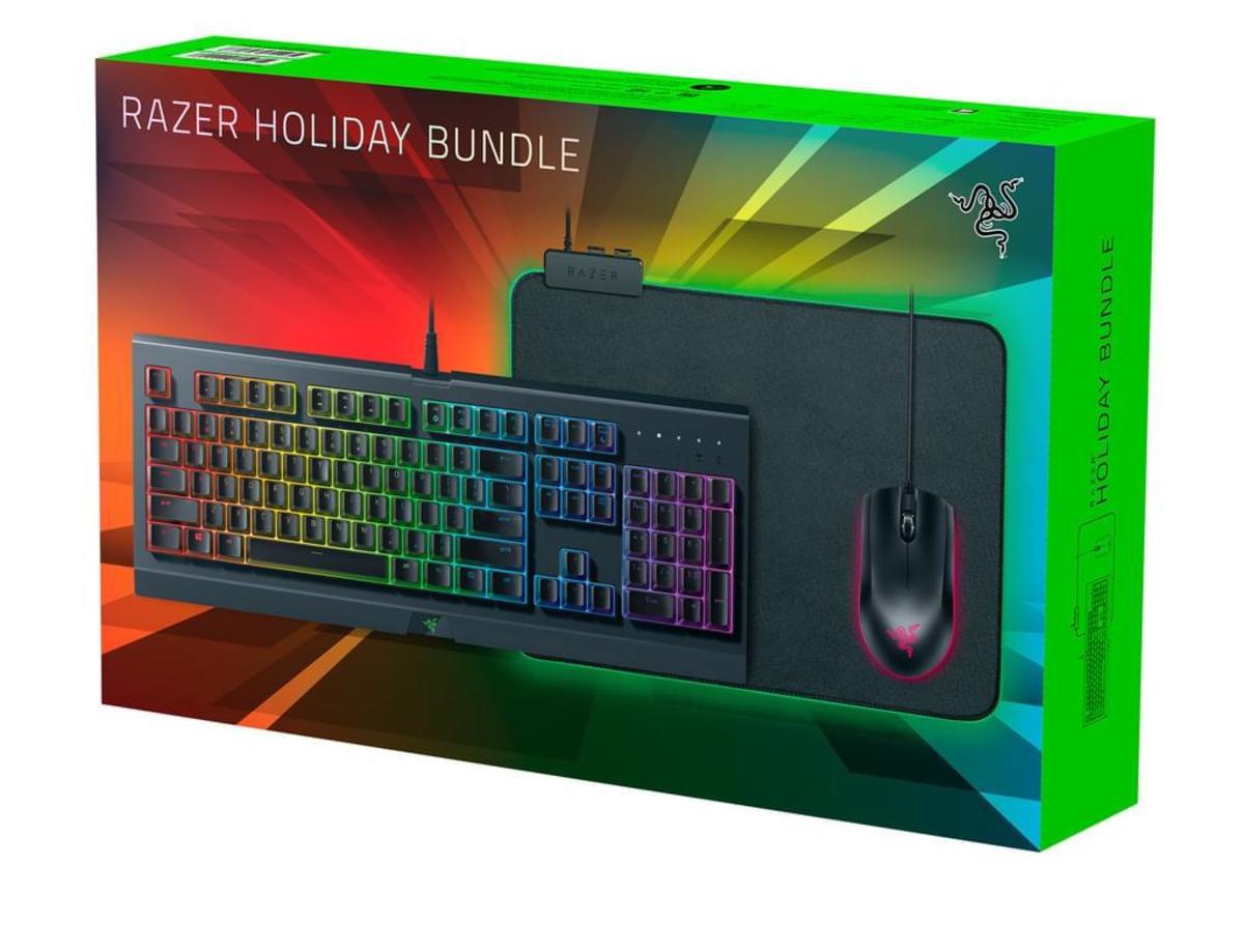 Bild 2 von Razer Holiday Bundle - Tastatur, Maus und Mauspad