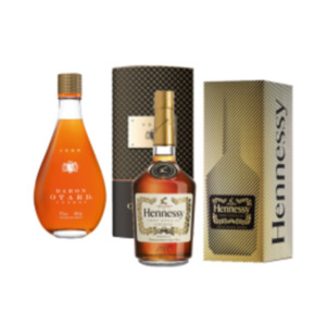 Cognac Hennessy VS oder Baron Otard VSOP