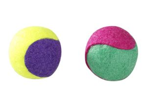 europet bernina Katzenspielzeug TENNIS-Gummibälle, 45 mm
