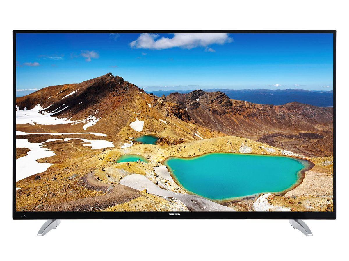 Bild 1 von TELEFUNKEN LU43FZ42C, UHD 4K, 43 Zoll, Smart TV, schwarz