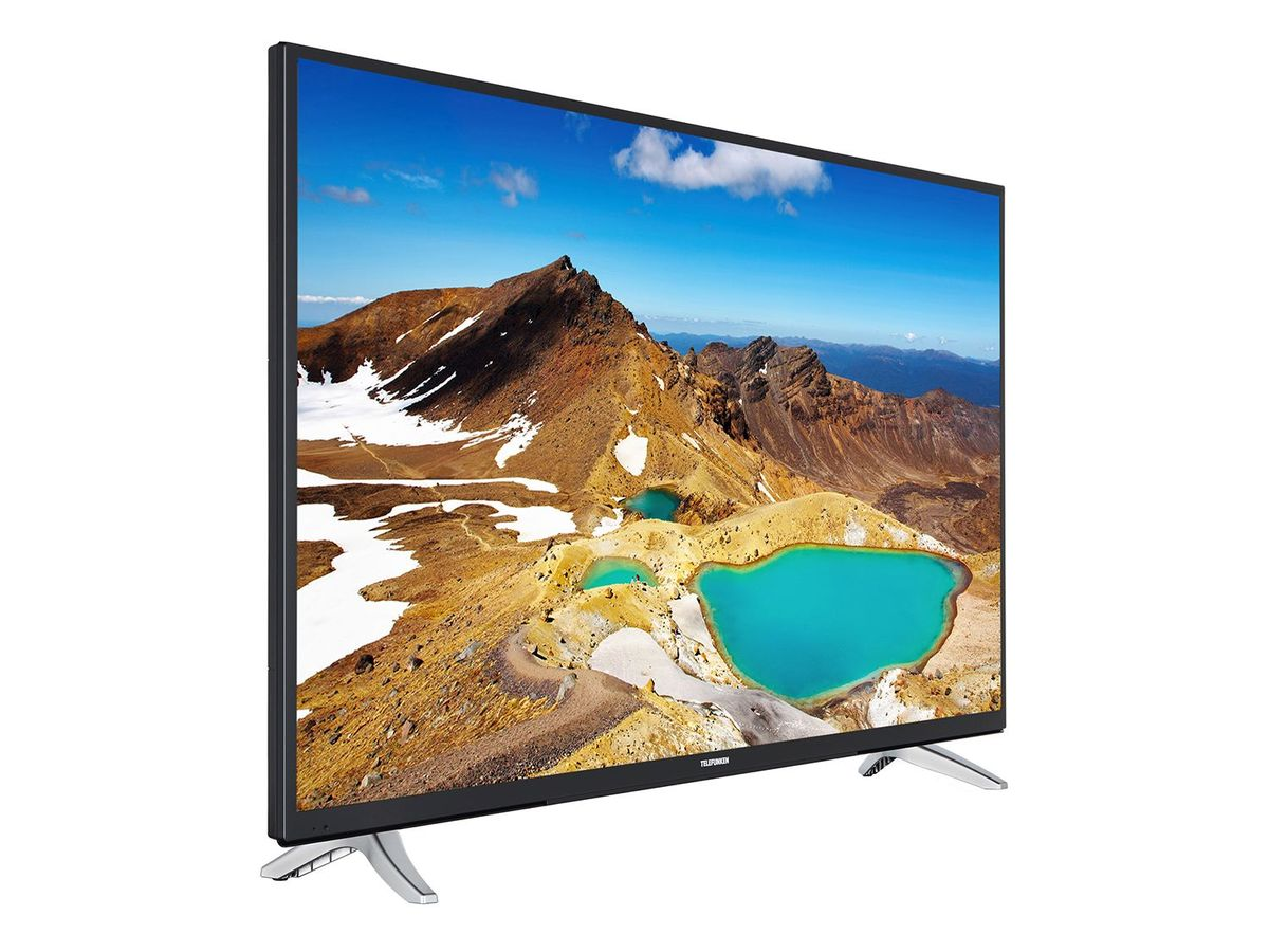 Bild 2 von TELEFUNKEN LU43FZ42C, UHD 4K, 43 Zoll, Smart TV, schwarz