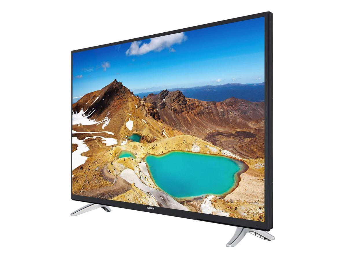 Bild 3 von TELEFUNKEN LU43FZ42C, UHD 4K, 43 Zoll, Smart TV, schwarz