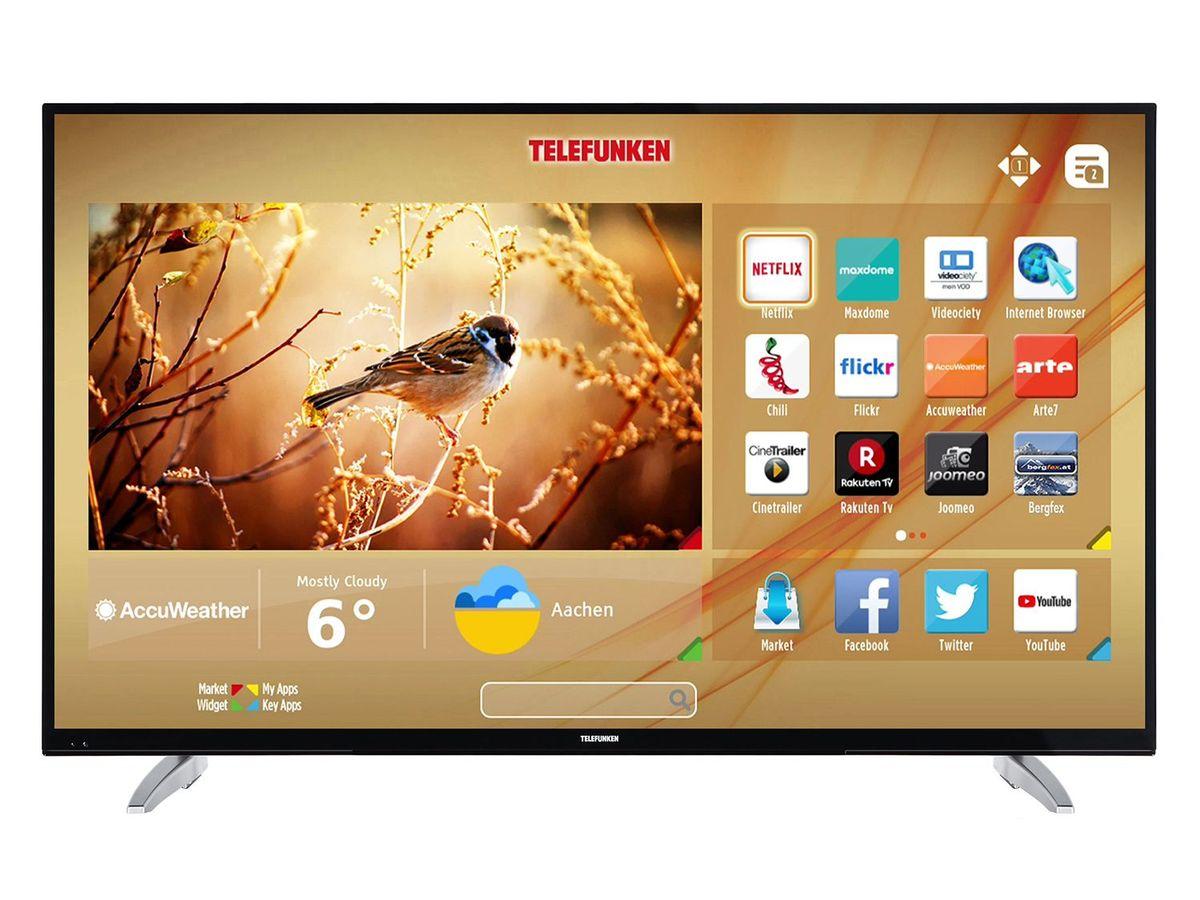 Bild 4 von TELEFUNKEN LU43FZ42C, UHD 4K, 43 Zoll, Smart TV, schwarz