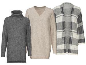 ESMARA® Damen Pulloverkleid/Cardigan