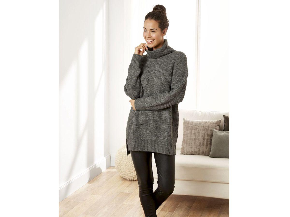 Bild 4 von ESMARA® Damen Pulloverkleid/Cardigan
