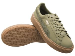 Puma Damen Sneaker Basket Platform Euphoria Gum