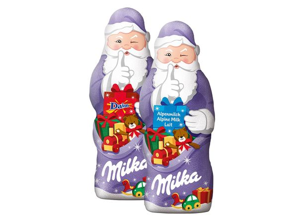 Milka Weihnachtsmann