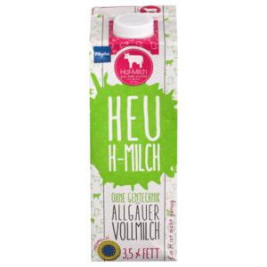 Allgäuer Hof-Milch Heu H-Milch 3,5% 1l