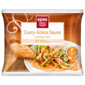 REWE Beste Wahl Curry Kokos Sauce 200g