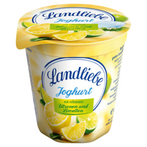 Landliebe Joghurt Zitrone-Limette 150g