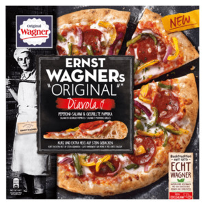 Original Ernst Wagner Pizza Diavolo 430g