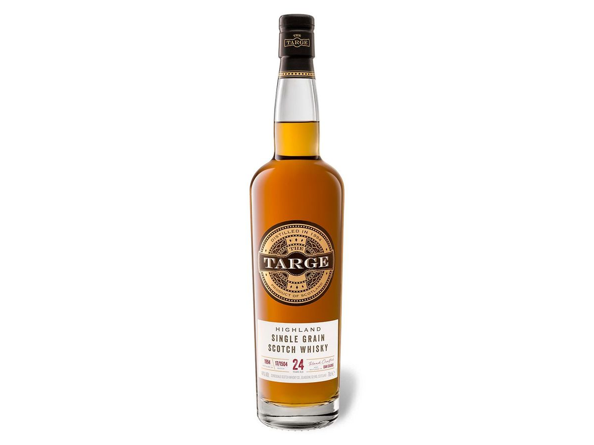 Bild 2 von The Targe Highland Single Grain Scotch Whisky 24 Jahre 44% Vol