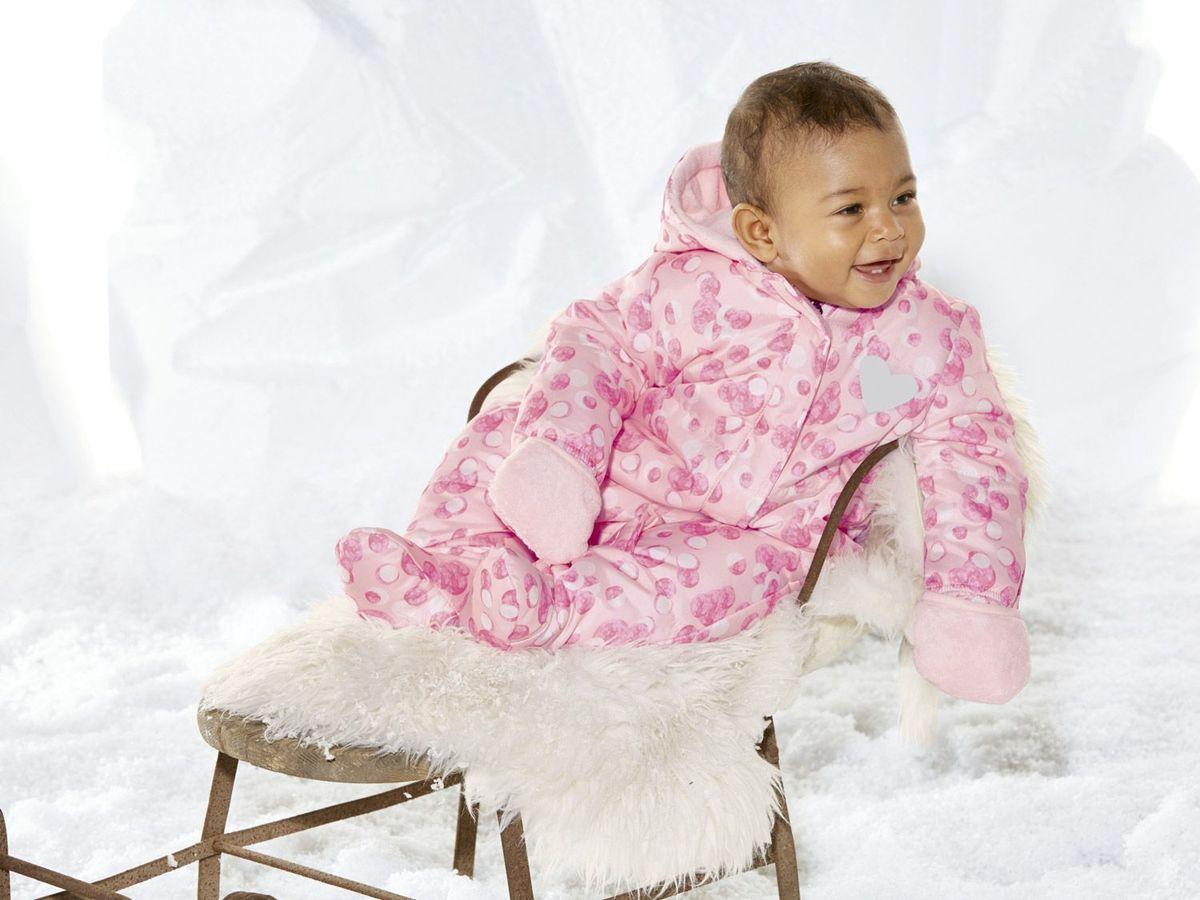 Bild 3 von LUPILU® Baby Mädchen Overall
