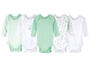 LUPILU® 5 Baby Langarmbodys