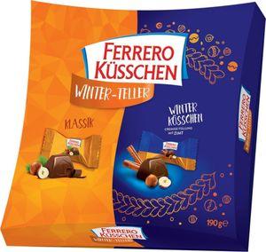 Ferrero Küsschen Winter Teller