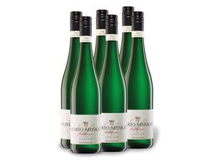 6 x 0,75-l-Flasche Weinpaket Morio-Muskat Pfalz QbA lieblich, Weißwein
