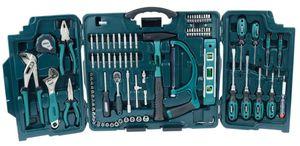 MANNESMANN Universal-Werkzeugsortiment im Klappkoffer, 89-teilig
