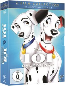 Disney DVDs Doppelpack- Collection - 101 Dalmatiner