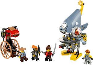 LEGO Sortiment Xmas - Piranha-Angriff