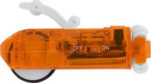 EASYmaxx Autorennbahn Tube Racer Ersatz-Auto 3-tlg. 3,7V transparent/orange