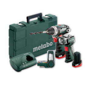 METABO Akkuschrauber-Set POWER MAXX 10,8 V
