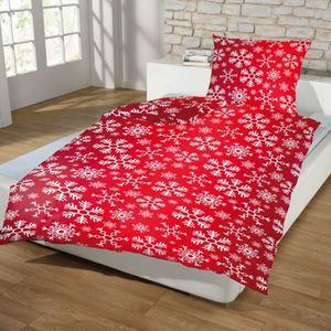 Weihnachts-Fleece-Bettwäsche 6-teilig Design