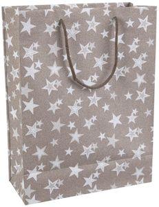 Geschenktasche - Sterne - aus Papier - 25 x 11 x 33 cm