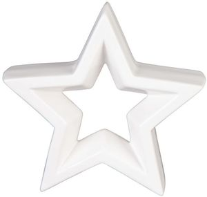 Stern - aus Dolomit - 11 x 3 x 10,5 cm