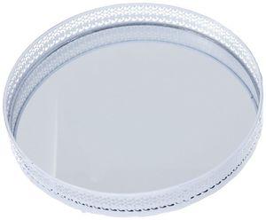 Tablett - aus Metall - Ø = 26 cm