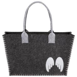 Einkaufstasche Ella Grau